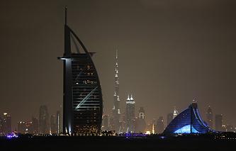 Дубай. EPA/ALI HAIDER