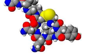 3d молекулы окситоцина