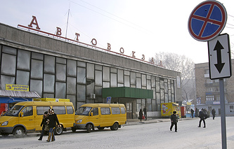 Здание автовокзала в Абакане