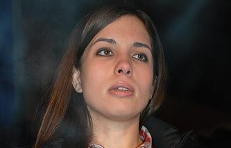 Амнистированная участница группы Pussy Riot Надежда Толоконникова