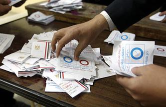 Голосование по проекту новой конституции в Египте