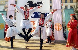 Праздничные мероприятия в Улан-Удэ