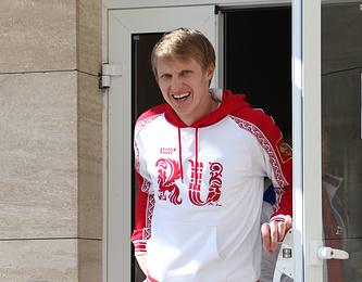 Российский конькобежец Иван Скобрев отмечает 31-летие 8 февраля