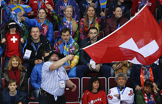 Сборная Швейцарии заняла второе место в группе