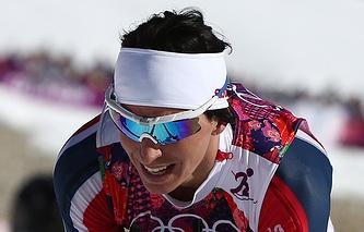 Норвежская лыжница Марит Бьорген