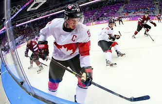 Капитан сборной Канада Сидни Кросби