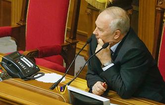 Спикер Верховной рады Украины Владимир Рыбак