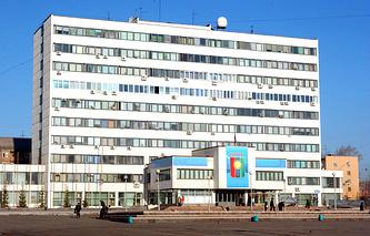 Здание Думы Братска