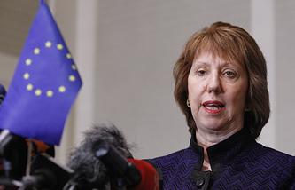Верховнвый представитель Европейского Союза по иностранным делам и политике безопасности Кэтрин Эштон