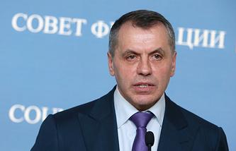 Председатель Верховного Совета Автономной республики Крым Владимир Константинов