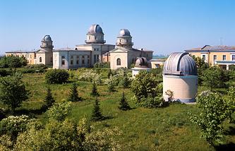 Главная (Пулковская) астрономическая обсерватория Российской академии наук.