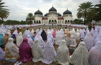 Eid al Adha in Banda Aceh