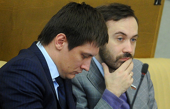 Дмитрий Гудков и Илья Пономарев