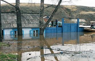 Архив. Паводок в Красноярске, 2005 год