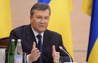 Виктор Янукович. 28 февраля 2014 года