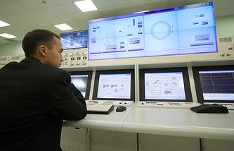 Блочный пункт управления четвертым энергоблоком Белоярской АС (Бн-800)