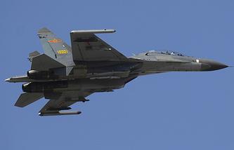 Истребитель Су-27 ВВС Китая