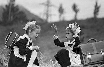 После уроков, 1984 год