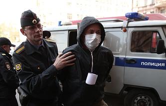 """Болельщик """"Зенита"""" Алексей Нестеров"""