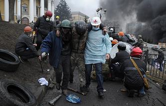 Киев. Февраль 2014 года