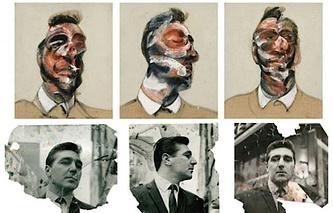 Триптих Фрэнсиса Бэкона и фотографии Джорджа Дайера