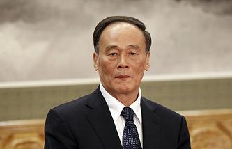 Глава Центральной комиссии КПК по проверке дисциплины Ван Цишань