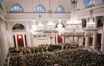 Большой зал филармонии имени Д.Д. Шостаковича