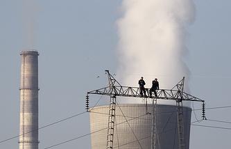 Электростанция в Косово