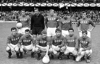 Сборная СССР на турнире 1966 года в Англии