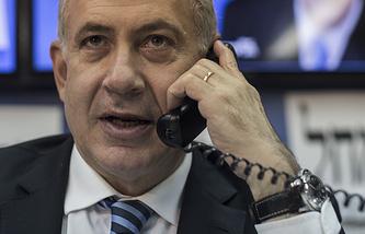 Архив. Премьер-министр Израиля Биньямин Нетаньяху