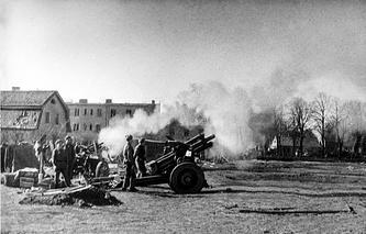 Великая Отечественная война. Кенигсберг, 1945 год