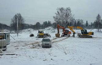 """Строительство на территории (ООПТ) """"Колтушские высоты"""" во Всеволожском районе."""