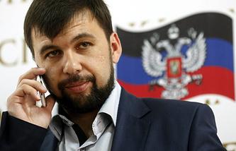 Председатель Верховного Совета ДНР Денис Пушилин