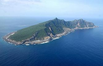 Остров архипелага  Сенкаку (Дяоюйдао)