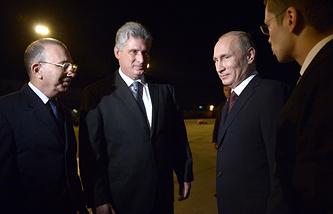 Официальный визит Владимира Путина на Кубу