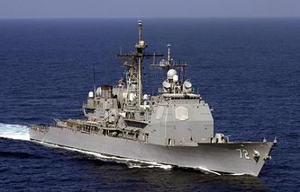 Ракетный крейсер Vella Gulf