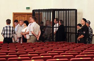 """Оглашение приговора по делу о крушении теплохода """"Булгария"""", 3 июля 2014 года"""