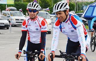 Андреас Фукс (слева) и Анатолий Нестеров