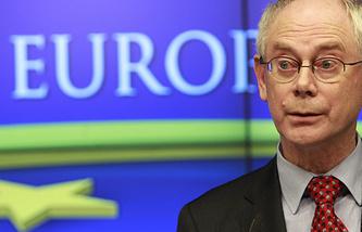 Президент Европейского Совета Херман Ван Ромпей