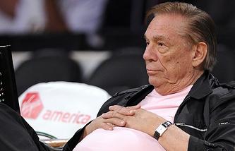"""Владелец клуба НБА """"Клипперс"""" Дональда Стерлинга"""