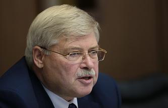 Губернатор Томской области Сергей Жвачкин