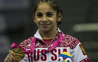 Российская гимнастка Седа Тутхалян