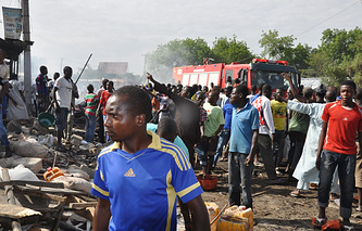Ситуация в Нигерии, июль 2014 года