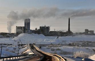 "Шахта ""Воркутинская"", февраль 2013 года"