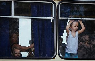 Украинские беженцы