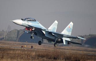 Многоцелевой истребитель СУ-30СМ. Архив