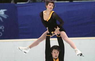 Оксана Казакова и Артур Дмитриев, 1998 год