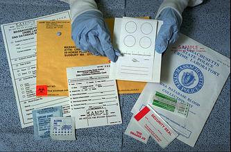 Криминалистическая лаборатория при полиции штата Массачусетс, США