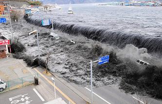 Землетрясение Тохоку магнитудой около 9 произошло 11 марта 2011 года. Оно вызвало сильное цунами, которое произвело массовые разрушения на северных островах японского архипелага