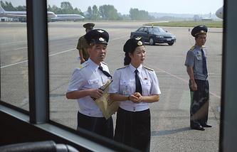 Аэропорт Сунан в Пхеньяне